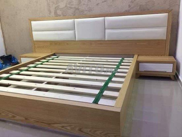 chambre moderne en bois massif sur centre Témara - 1