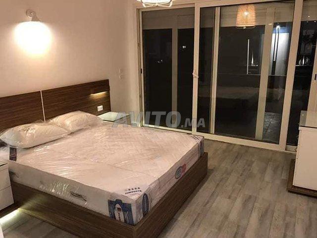 chambre moderne en bois massif sur centre Témara - 4
