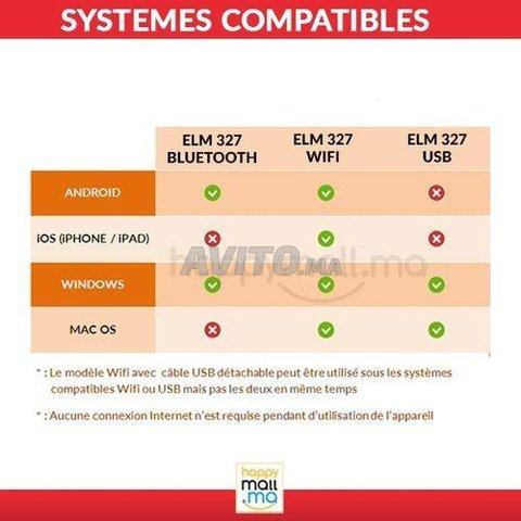 Obd Ii ELM327 WIFI Haute Qualité Spécial iPhone - 4