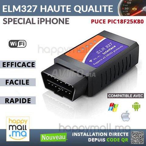 Obd Ii ELM327 WIFI Haute Qualité Spécial iPhone - 1