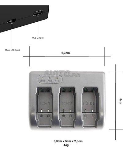 Chargeur de batterie Gopro Hero 5 6 7 8 - 4
