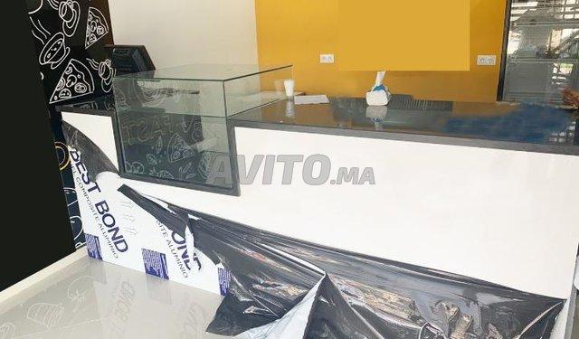Comptoir En tôle alucoband  الرخام الزجاج placard - 1