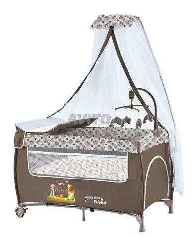 Lit pliant bébé avec Option vibration en Promo - 1