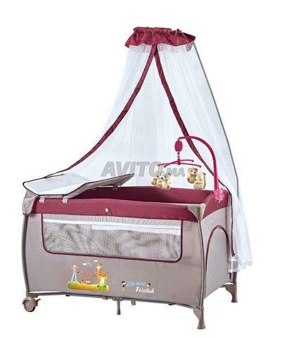 Lit pliant bébé avec Option vibration en Promo - 2