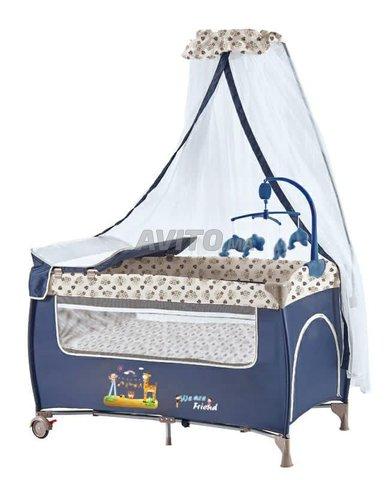 Lit pliant bébé avec Option vibration en Promo - 3