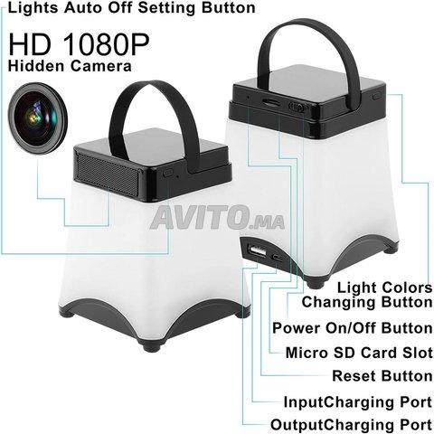 Veilleuse Caméra espion WiFi Détection mouvement - 2