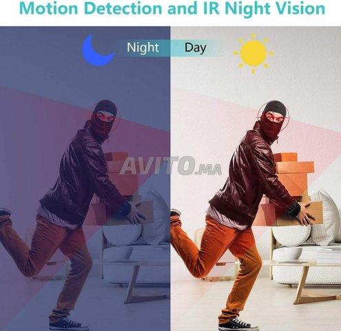 Veilleuse Caméra espion WiFi Détection mouvement - 6
