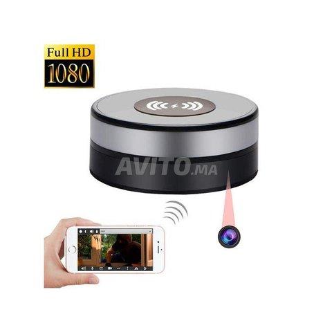 Chargeur sans Fil caméra espion WiFi - 1