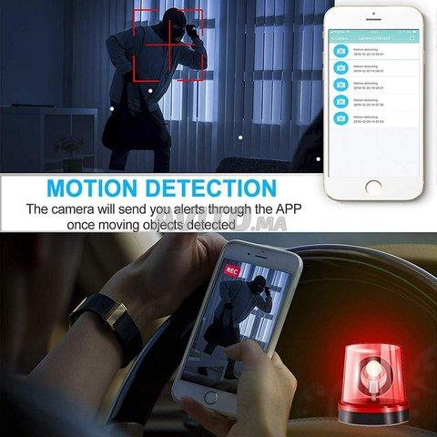 Chargeur sans Fil caméra espion WiFi - 2
