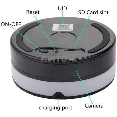 Chargeur sans Fil caméra espion WiFi - 8