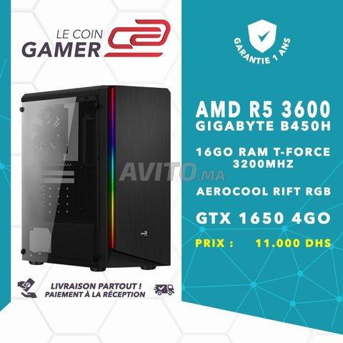 PC Gamer R5 3600 / GTX 1650 - 1