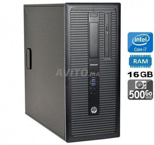 U.Cs HP EliteDesk800 G1/ i7-4770 /16Go /500Go SATA - 1