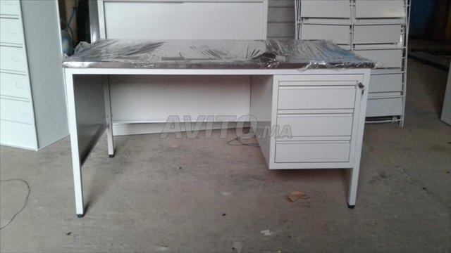Bureau métallique / haute qualité 89612 42492  - 1