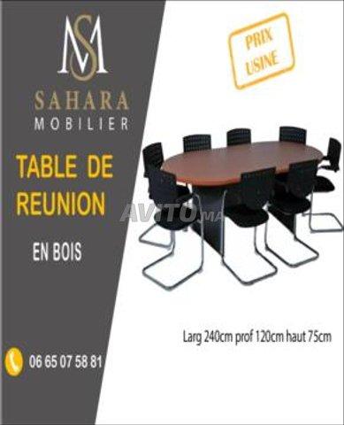 طاولة اجتماعات رائعة الصنع - 2