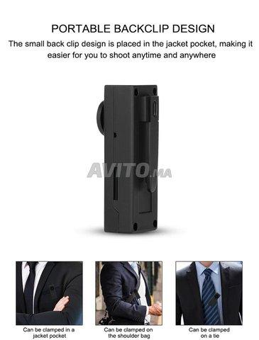 Bouton de chemise caméra WiFi 4K 1080P - 3