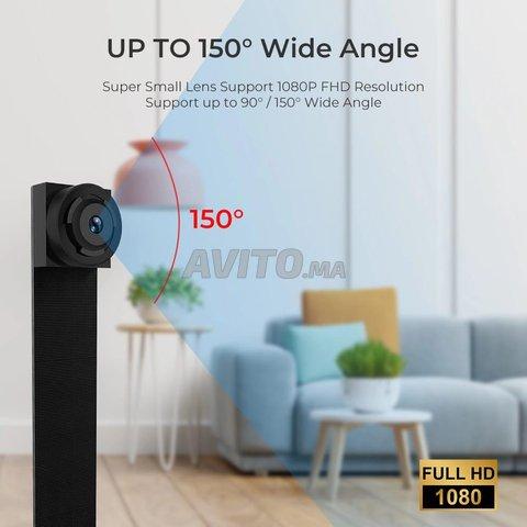 Mini Caméra Wifi 4K 1080p Mode Detéction mouvement - 2