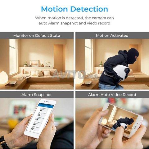Mini Caméra Wifi 4K 1080p Mode Detéction mouvement - 4