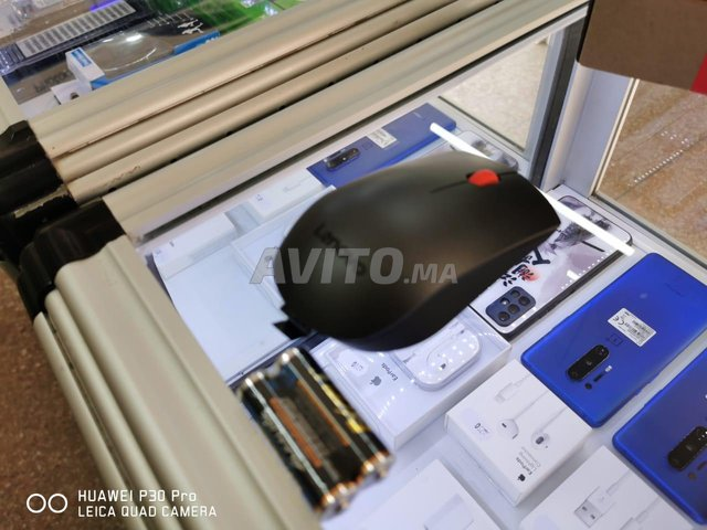 Souris Bluetooth Sans Fil Lenovo Professionnel - 1