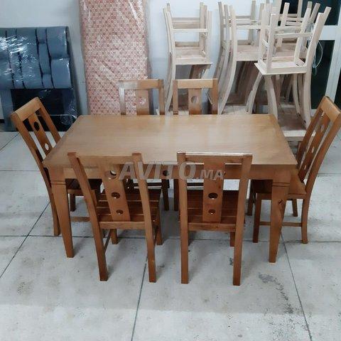 طاولات للاكل من الخشب الجيد - 2