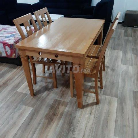 طاولات للاكل من الخشب الجيد - 3