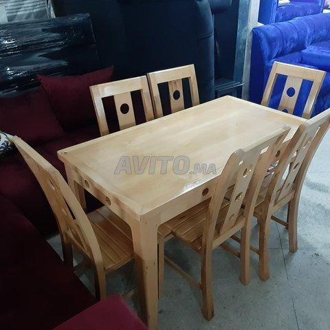 طاولات للاكل من الخشب الجيد - 4