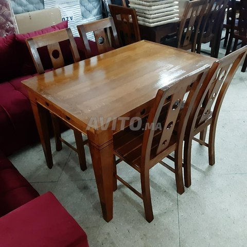 طاولات للاكل من الخشب الجيد - 5