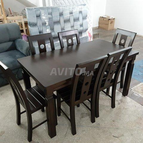 طاولات للاكل من الخشب الجيد - 6