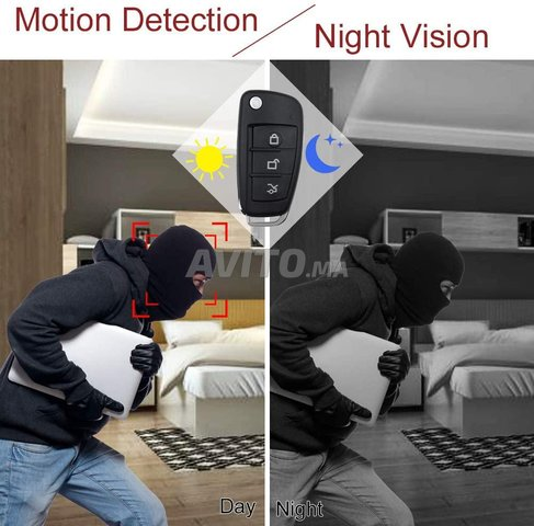 Clé de voiture caméra espion HD Motion Detection - 2