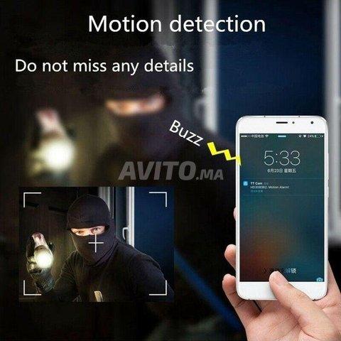 Mini Caméra espion WiFi 4K 1080P Accès à Distance - 4