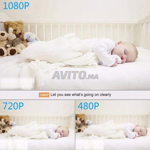 Mini Caméra espion WiFi 4K 1080P Accès à Distance - 5