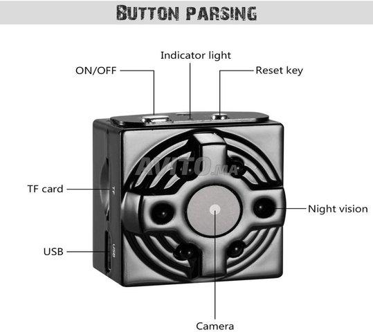 Mini Caméra espion WiFi 4K 1080P Accès à Distance - 6