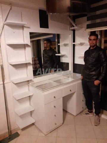 fabrication style chambre bois massif a Témara - 4