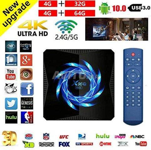 TV Box X96Q MAX 4Go 64GB avec IPTV 12 Mois - 5