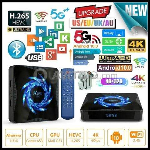 TV Box X96Q MAX 4Go 64GB avec IPTV 12 Mois - 2