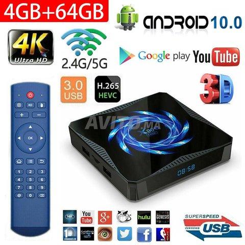 TV Box X96Q MAX 4Go 64GB avec IPTV 12 Mois - 1