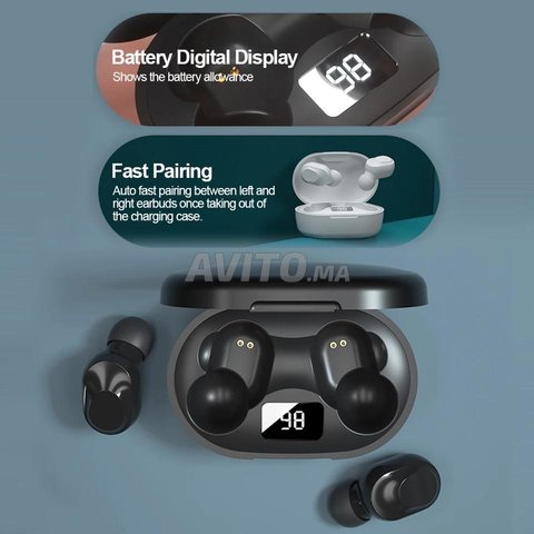 Lenovo XT91 Originel TWS Écouteurs Bluetooth 5.0  - 6