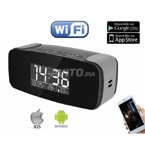 AD5 - Réveil Espion WiFi avec accès à Distance - 1
