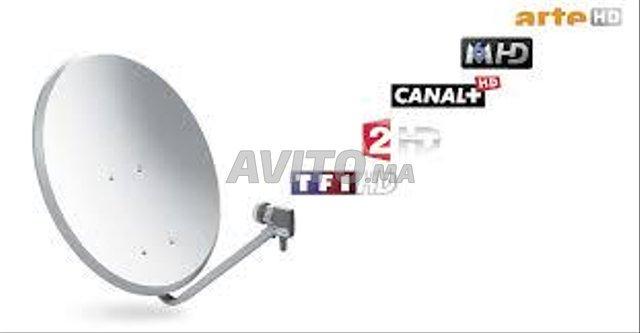 Fixation television et parabole - 1