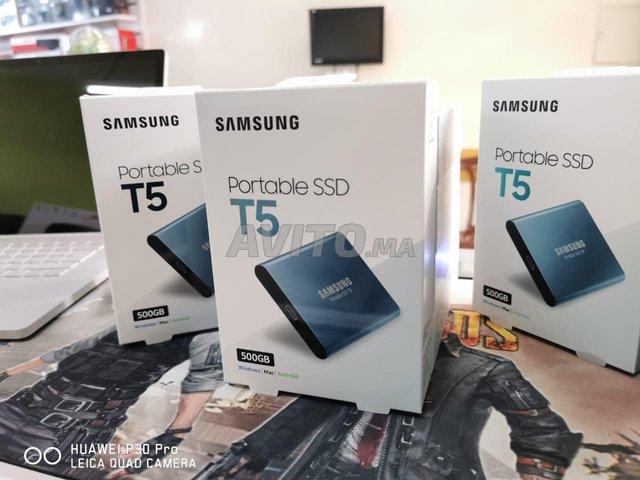Disques Durs Externes SSD Samsung T5 500Go Neufs - 6