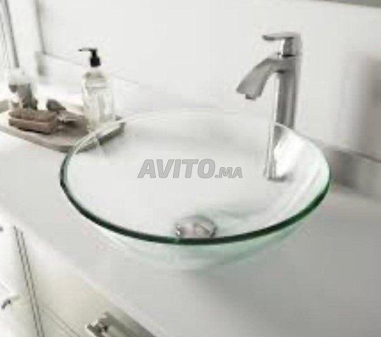 Vasque en verre trempé - 2