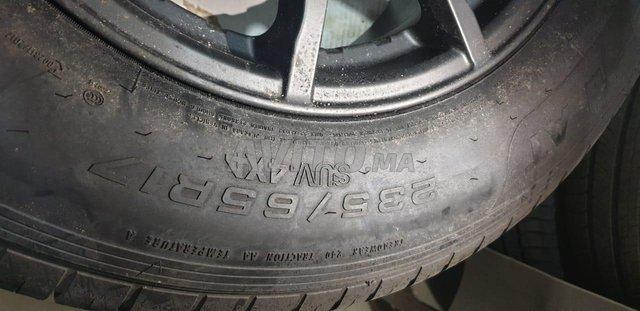 jante alu avec pneu pour range evoque  - 4