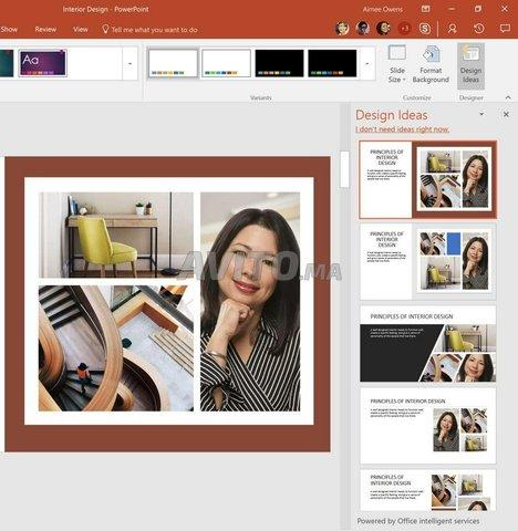 Microsoft Office 365 Famille Windows Clé  - 2