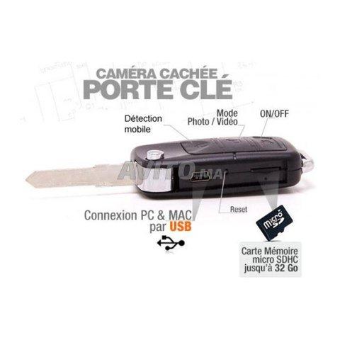 Clé de voiture caméra espion - 2
