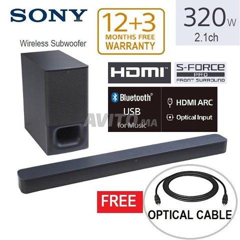 Sony Barre de Son 2.1ch avec caisson  sans fil - 1