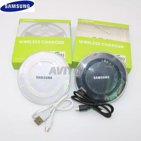 Chargeur sans fil pour Samsung et iPhone - 1