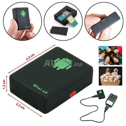 Micro Espion GSM -Mini A8 - 2
