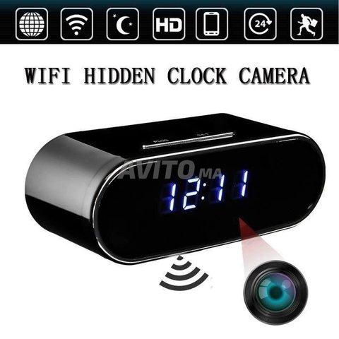 Réveil Caméra Espion Wifi 4K Vision a distance  - 4