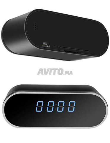 Réveil Caméra Espion Wifi 4K Vision a distance  - 6