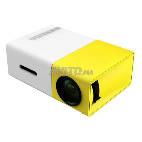 Mini projecteur LCD Full HD Vidéo Projecteur - 4