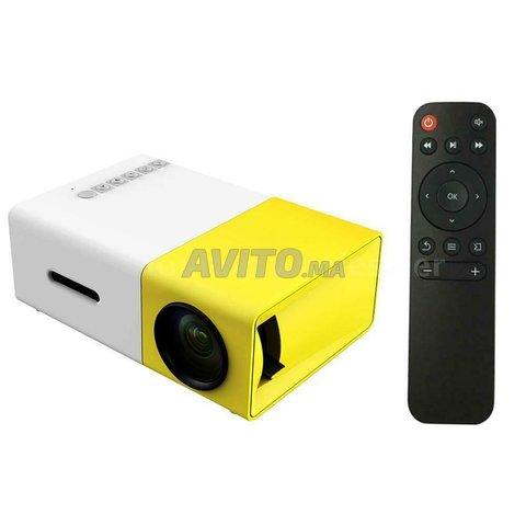Mini projecteur LCD Full HD Vidéo Projecteur - 5